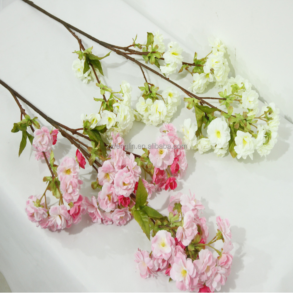 Factory Cheap Wholesale Wedding Decorative Artificial Cherry Blossom