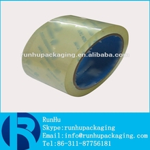 Resistance to aging, sticky adhesive tape for BOPP packaging