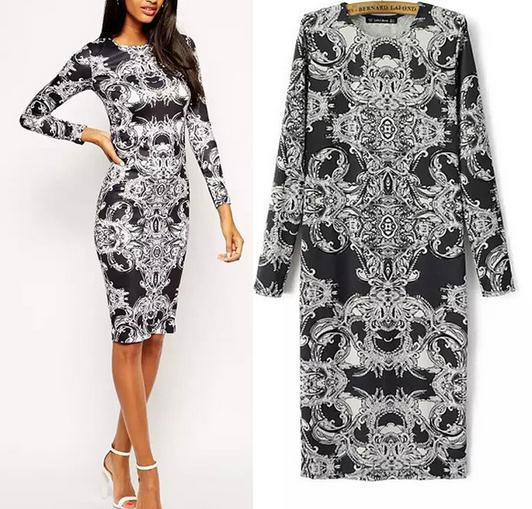 vintage new style dress wholesale new fashion