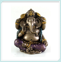 Mini hindu elephant god ganesh statue for sale