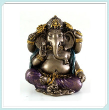 Mini hindu elephant god ganesh statue for sale