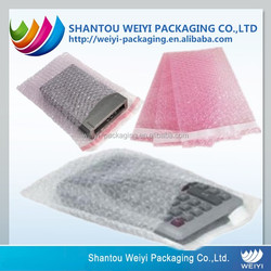 High quality air bubble film bag for electronic parts