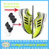 Alibaba Trade assurance factory supply decorative closure shoe buckle plastic shoelace with strong magnetic