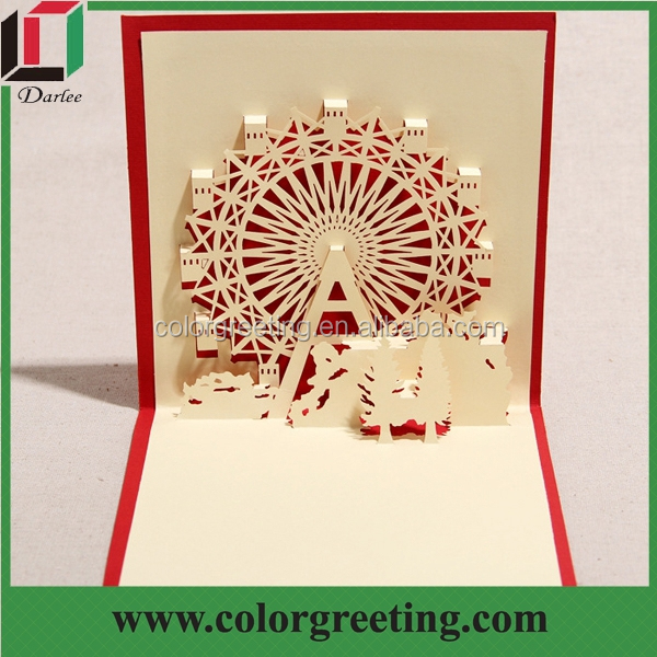 Promotion 3d greeting card cheap pop up birthday card for sale e dlcdgr 150062g m4hsunfo