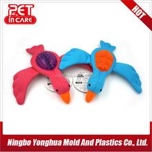 hot sale plush and TPR bird shape dog toy 234908