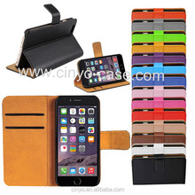 for apple iphone 6 plus case, for iphone 6 wallet case with card slot book flip leather case cover, mobile case for iphone 6