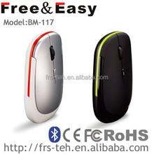 BM-117 super slim drivers bluetooth optical mouse 3.0 10m working distance