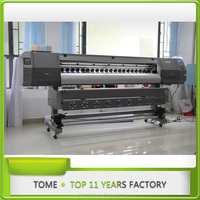 Dx5 print head eco solvent printer price of plotter machine 2pcs DX5Heads