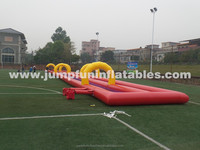 Summer fun Water Slide City / Giant Inflatable Waterslide for big party on street