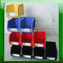 2015 HOT stackable plastic bin/plastic drawer for warehouse parts storage system