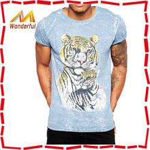 95% cotton 5% elastane /100% cotton plain sport t shirt wholesale