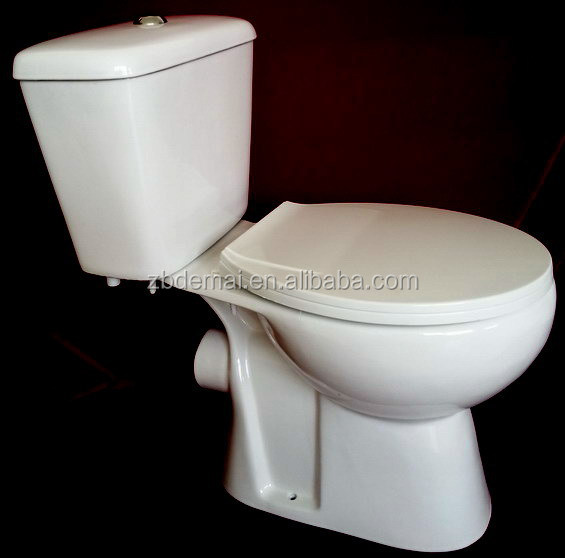 Bathroom Design Sanitary Ware P Trap Two Pieces Cistern