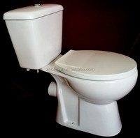Bathroom design sanitary ware; P trap Two pieces cistern toilet; china supplier HOT SALE IN ARMENIA GEORGIA MIDDLE EAST