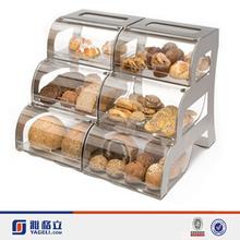 2015 New fashion design High quality acrylic bread box walmart