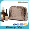 Unique shiny glitter clear cosmetic travel bag