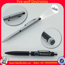 China hot sell Cheap Logo LED pen for promotion, Promotional LED pen