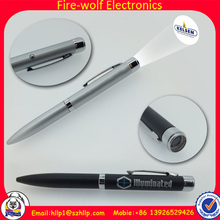 China hot sell LED promotional pen, LED pen for promotion