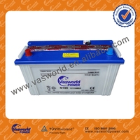 Hot sale dry cell auto battery 12v100ah for starting with wholesale price