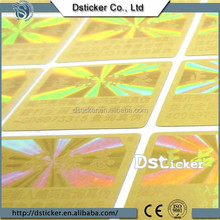 shanghai customize design hot stamp sticker