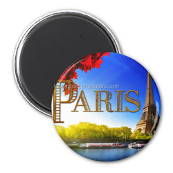Cheap Eiffel tower tin fridge magnet travel tourism Gift Crafts