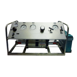 Portable Hydraulic Safety and Relief Valve Pressure Test Bench for Oilfield Wellhead Operation