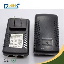 with led light wallmount poe adapter for network device