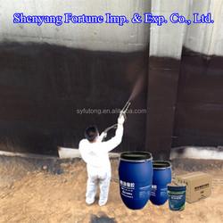 Cheap Black Bitumen Liquid Rubber Roof Waterproof Coating ( FT7-9CD )