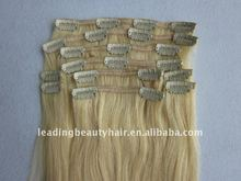 Limousines remy hair Clip in extentions