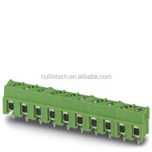 screw terminal block 7.5mm pitch 800V 32A parallel to the pcb