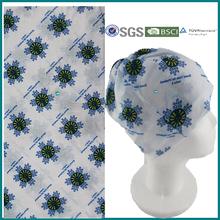 Dark Blue Snowflake Headwear