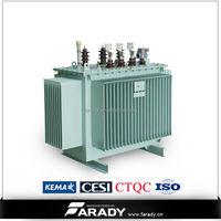power distribution 33kv 11kv 500 kva electric step down transformer