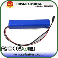 Hot sale !!! high capacity 18650 rechargeable battery 24v 6ah li-ion battery for electric bike