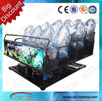 Wholesale Customized Style Hydraulic/Dynamic 5d cinema Cabin hydraulic motion best home cinema theater 12d equipment