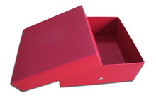 Lid and base paper box