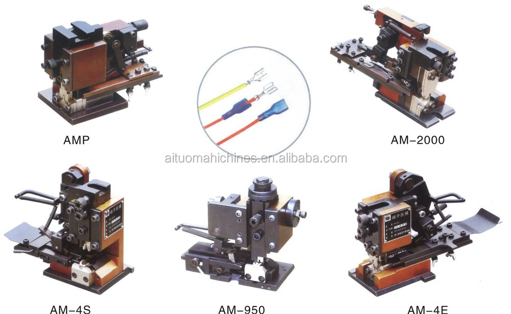 automatic wire cutting stripping and crimping machine