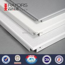 600*600mm aluminum fireproof ceiling panels