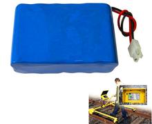track detector lithium 18650 battery 11.1v 11ah