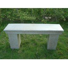 Outdoor park garden furniture granite garden bench