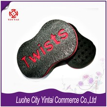 2015 Newest Wholesale 46 Holes Magic Hair Twists Sponge Brush for Dreads Loc Twist Curl Sponge NEW Improved Firm Top