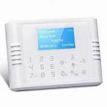English/German/French/Spanish Multi-functional Wireless Burglar Alarm System GSM wireless home business security
