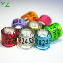 2015 Colorful Top Quality Pigeon rings for sale