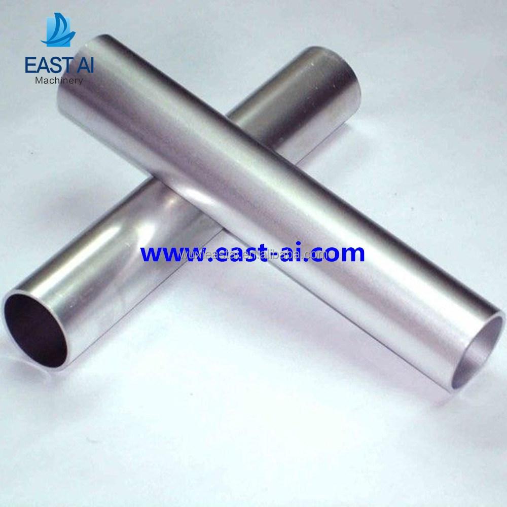 argento anodizzato 6063 t5 profili estrusi in alluminio tubo smerigliatrice-Tubi d`alluminio-Id ...