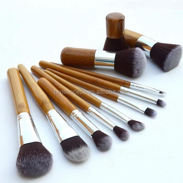 bamboo make up brushes