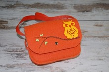 Recycled Eco-friendly long string felt shoulder bags wholesale