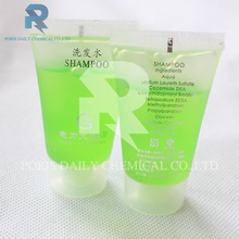 Wholesale screw cap 35ml tube high quality hotel shampoo and conditioner