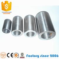 Construction Material Building 45# steel rebar coupler connectors for sales