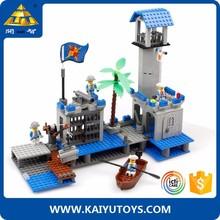 KAZI building blocks 365pcs robot model ships made in china