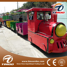 Adult and kids love amusement park locomotives steam train toy for sale