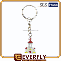 Low price auto dealer key chains, names key chain, brass key chains hot sale