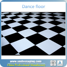 outdoor white and black portable used dance floor for sale club dance floor portable dance floor wood